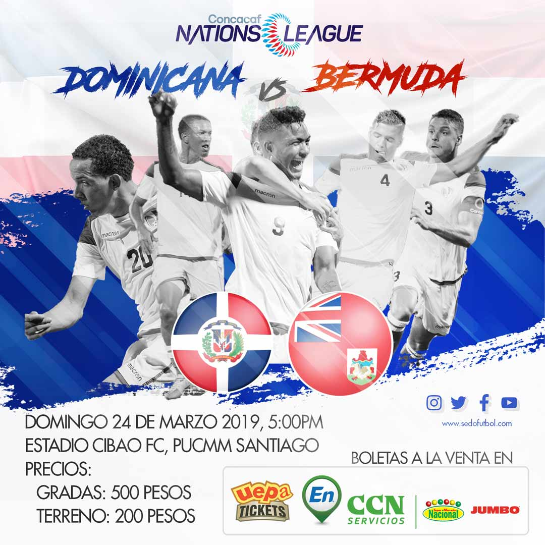 República Dominicana VS Bermudas Concacaf Nations League