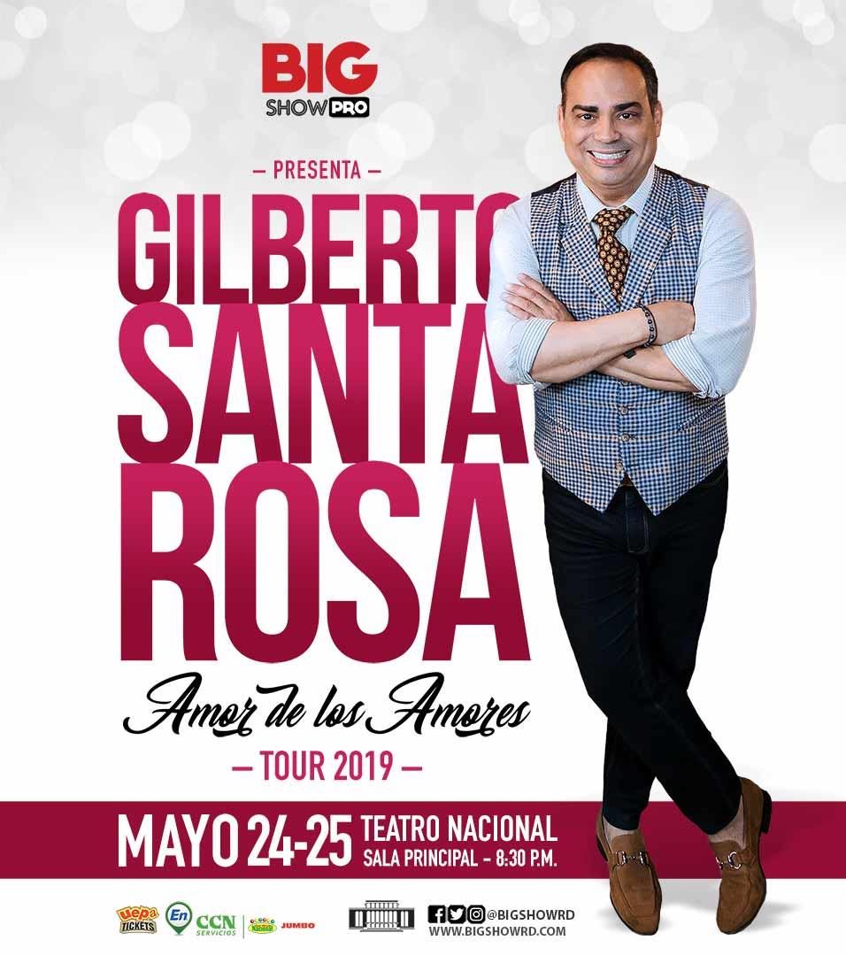 "Gilberto Santa Rosa ""Amor de los Amores"" Tour 2019"