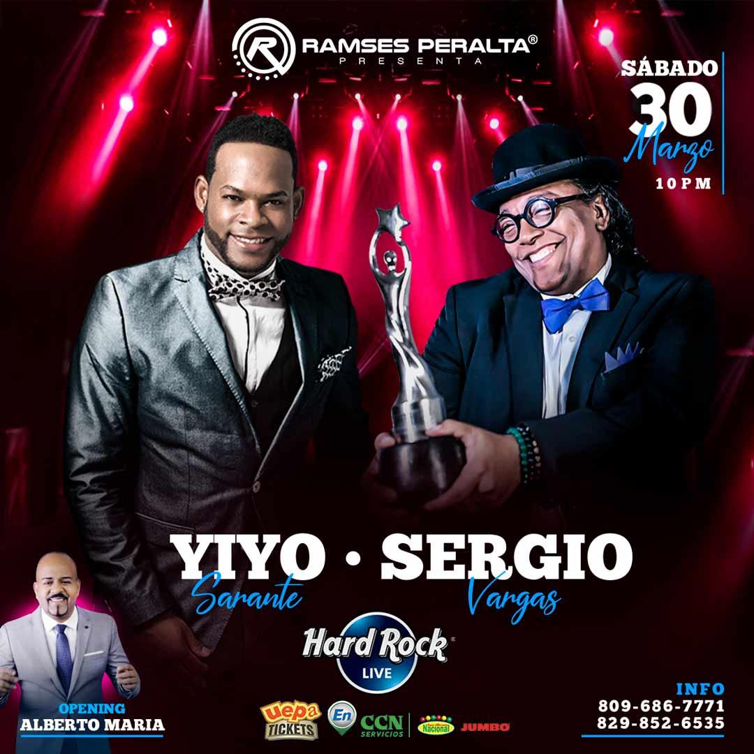 """Sergio Vargas y Yiyo Sarante """"Los Titanes"""""""