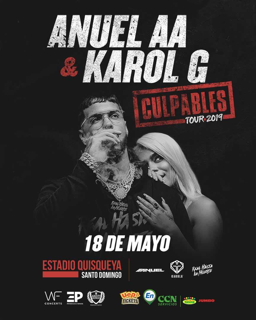 Anuel AA & Karol G: Culpables Tour 2019