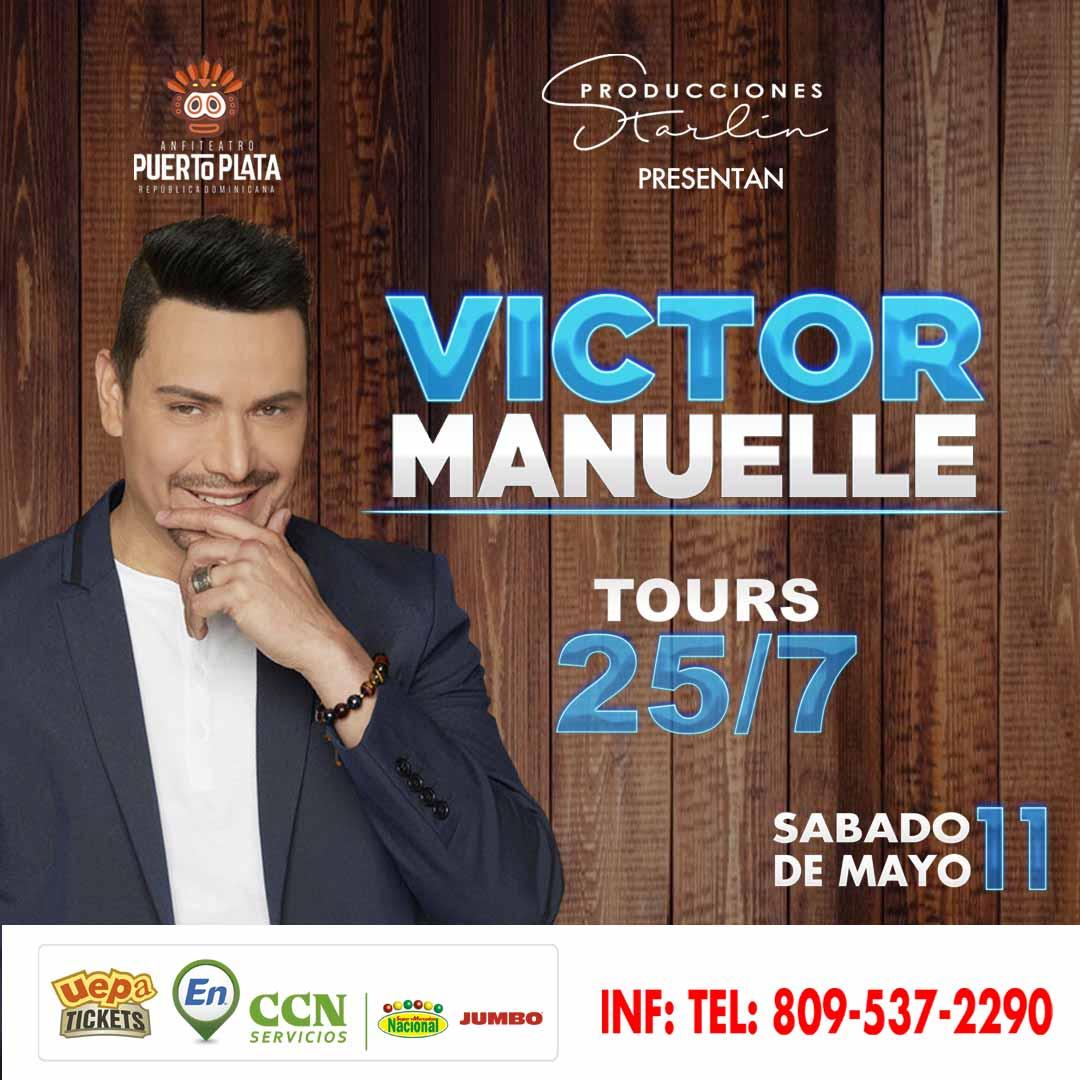 Victor Manuelle 25/7 Tour