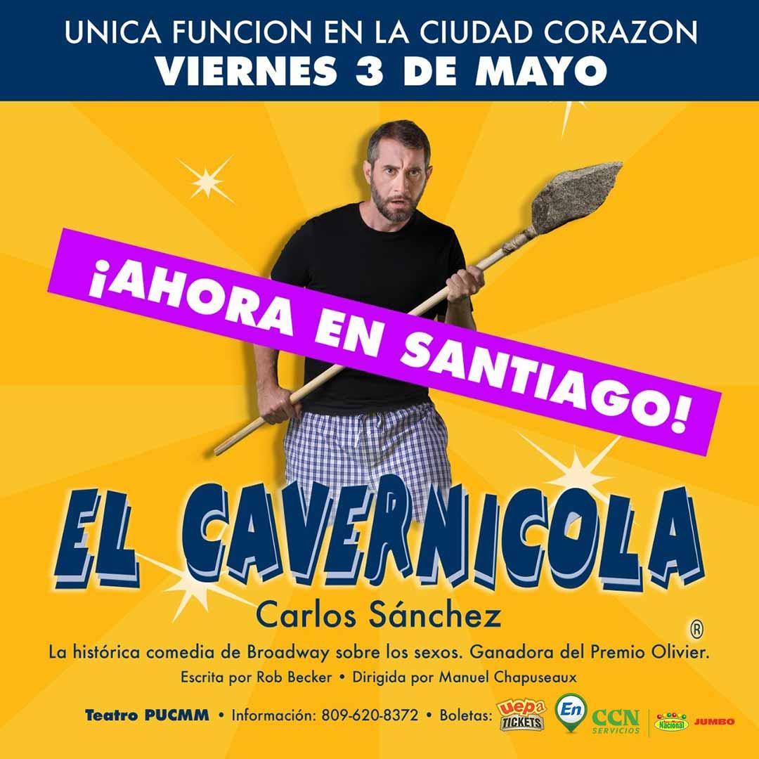 """Carlos Sánchez """"El Cavernícola"""" Función Santiago"""