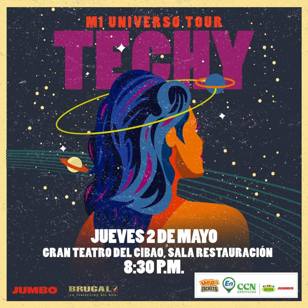 Techy Fatule: Mi Universo Tour