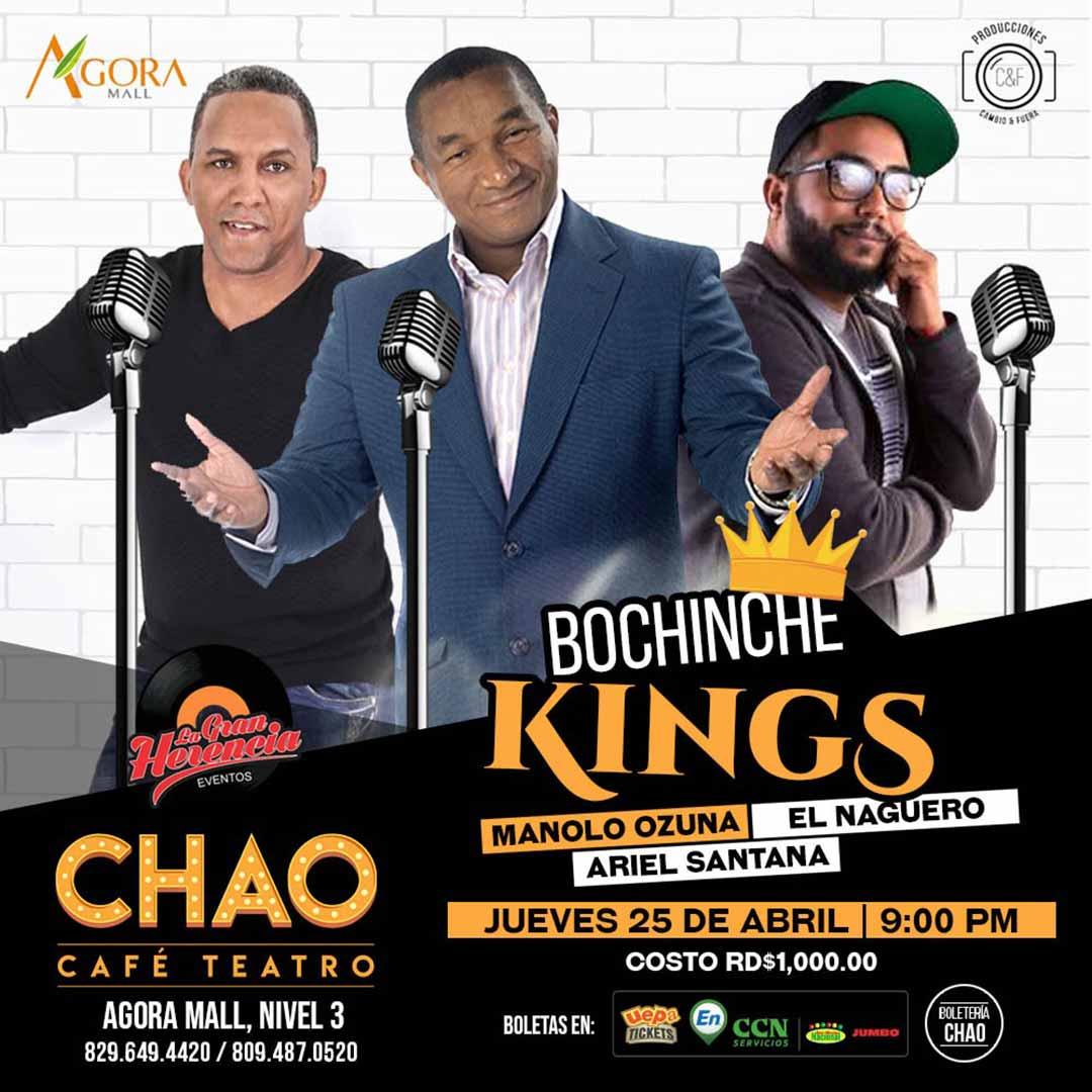 Bochinche Kings, Manolo Ozuna, El Naguero y Ariel Santana