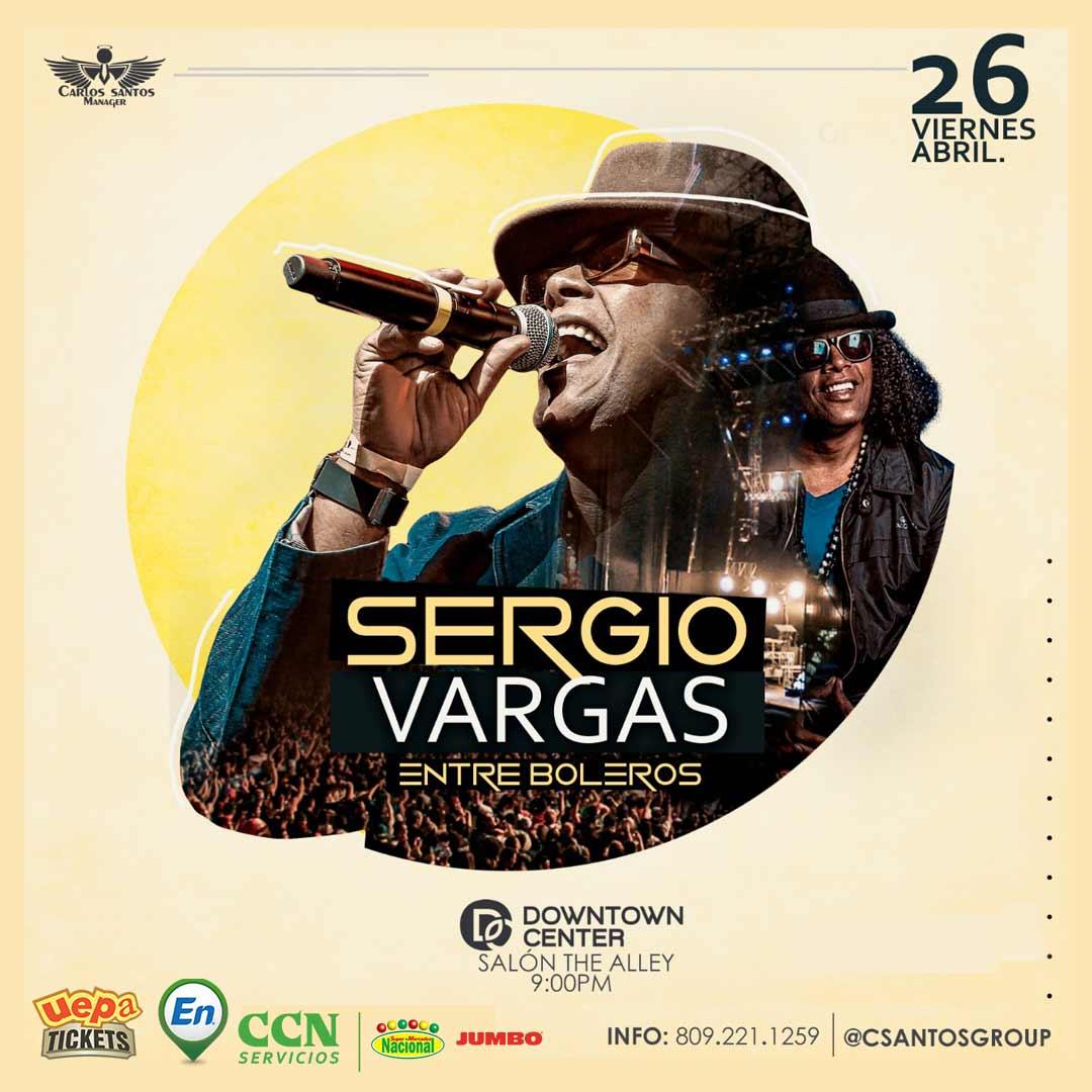 Sergio Vargas: Entre Boleros