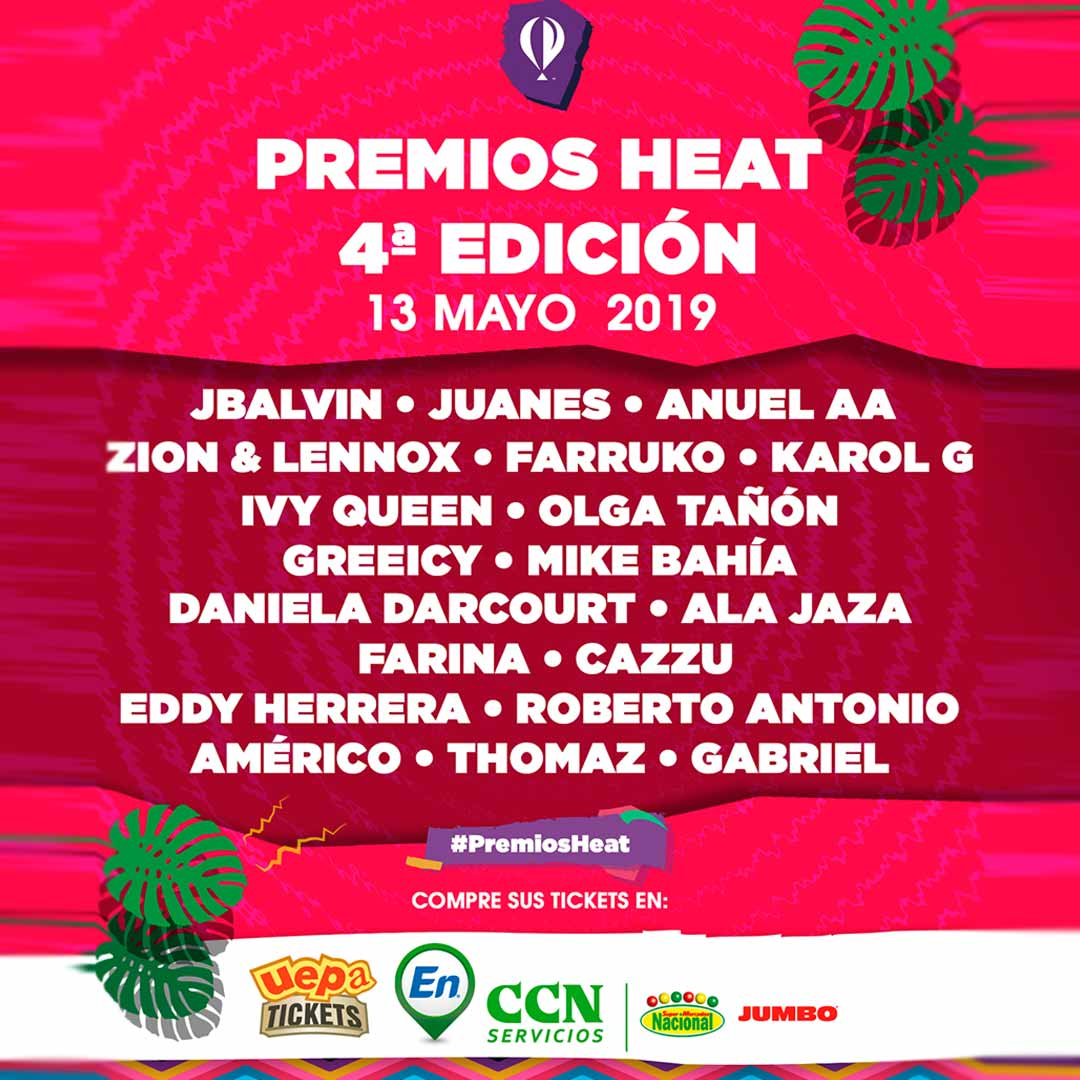 Heat Latin Music Awards 2019