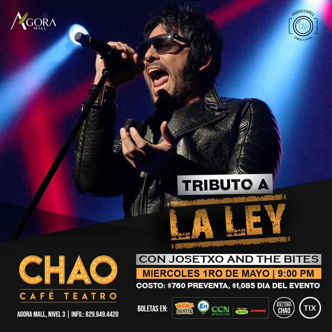 Tributo A La Ley Con Josetxo And The Bites