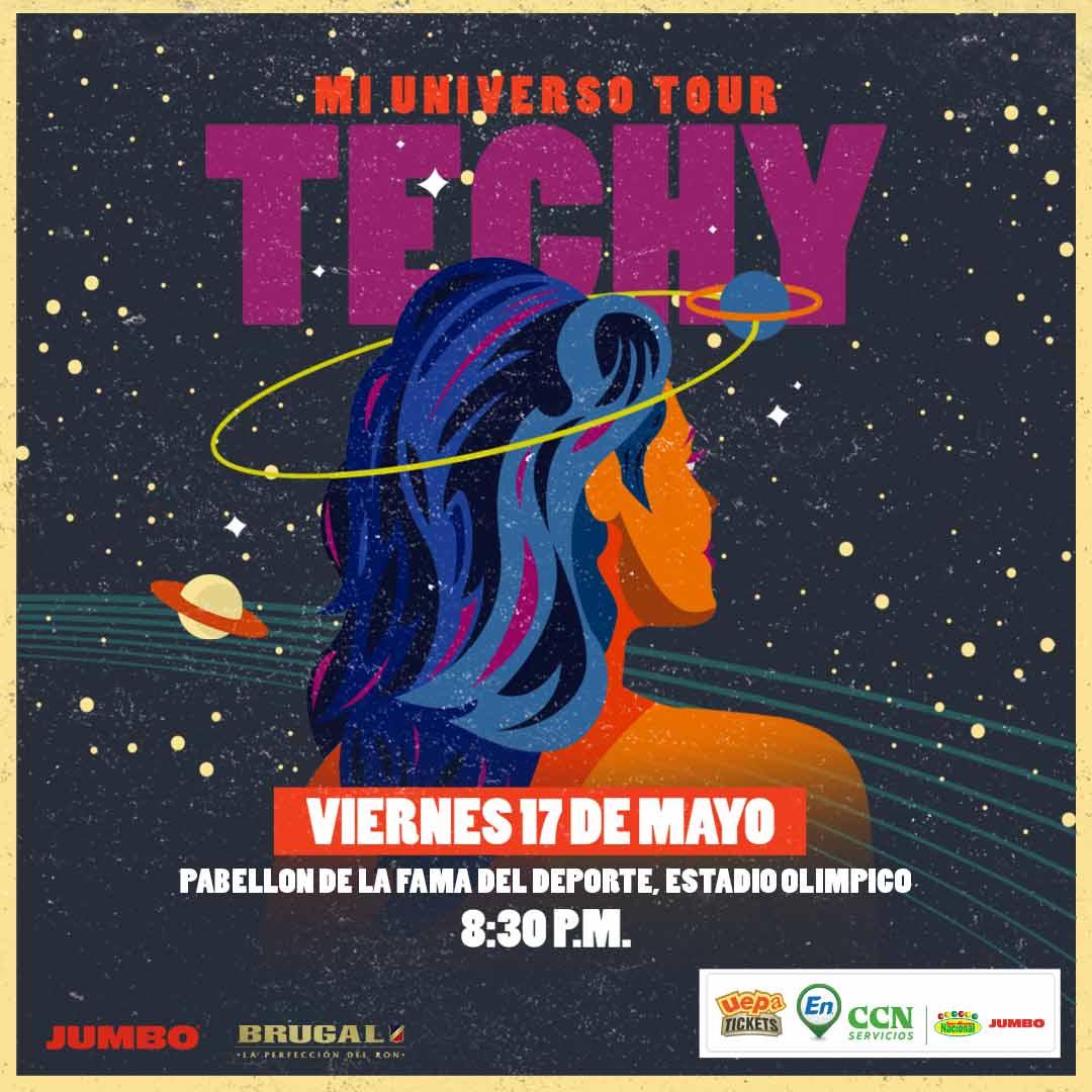 Techy Fatule Mi Universo Tour en  Santo Domingo