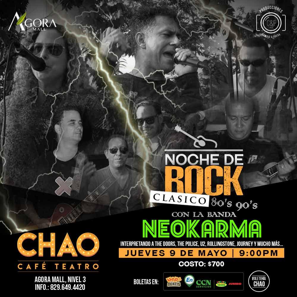 Neokarma, Noche de Rock Clasico