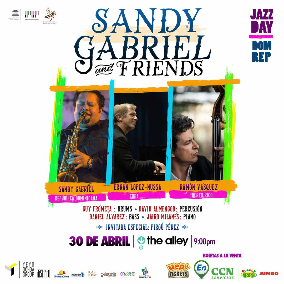 "Sandy Gabriel And Friends ""Jazz Day Dom. Rep"""