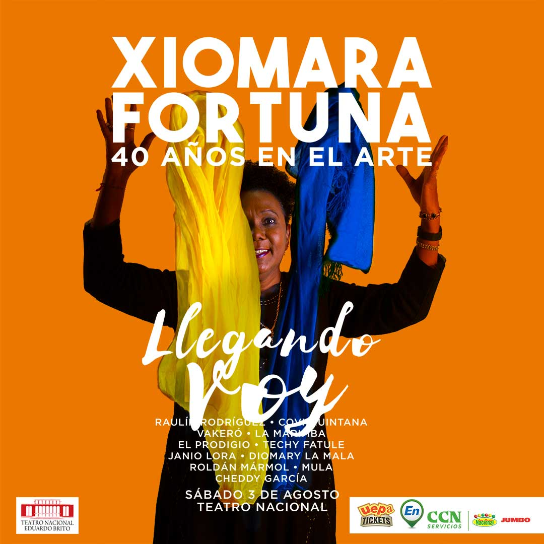 Llegando Voy con Xiomara Fortuna 40 años de Musica