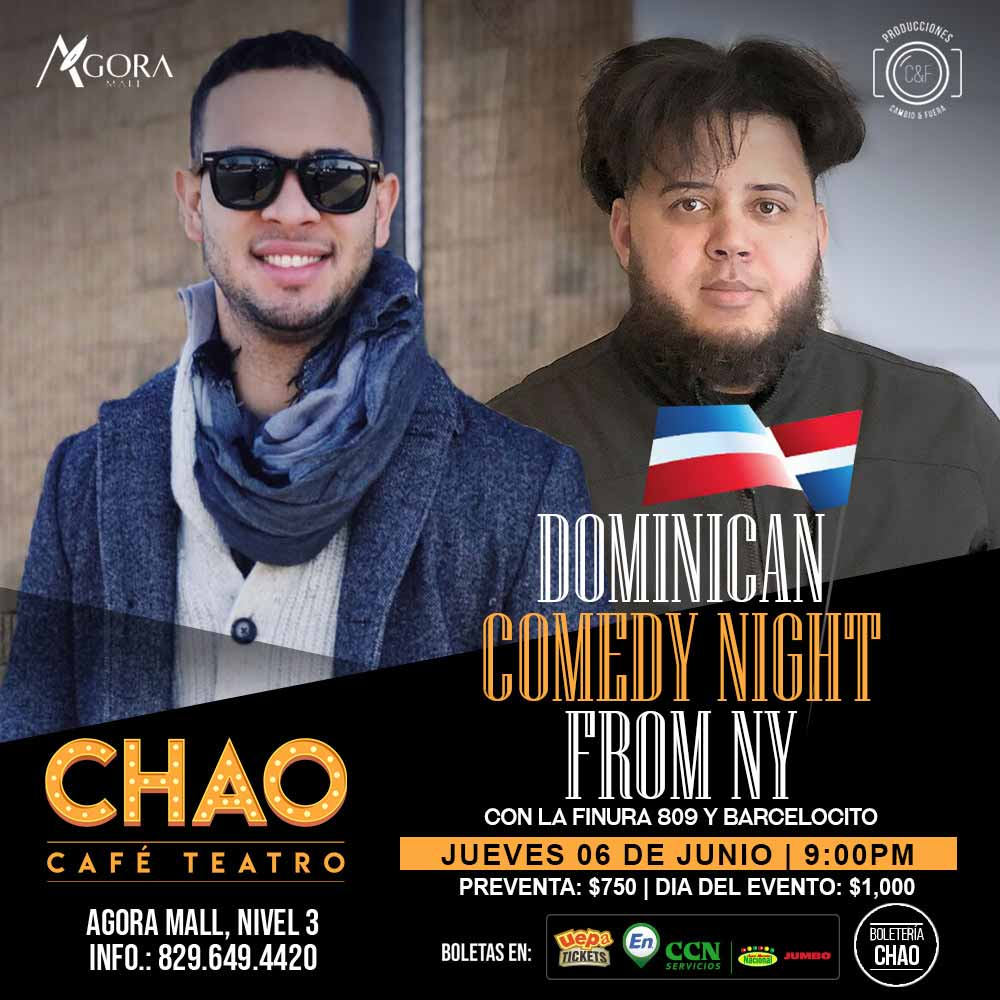 Dominican Comedy Night From NY