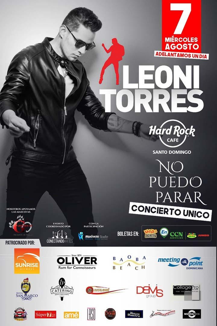 """Leoni Torres """" No Puedo Parar"""""""