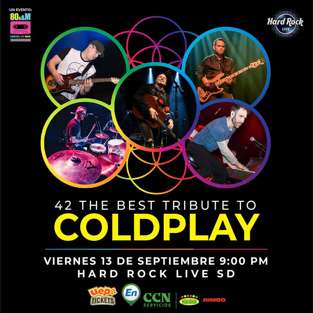 "Forty Two ""42"" The Best Tribute To Coldplay"