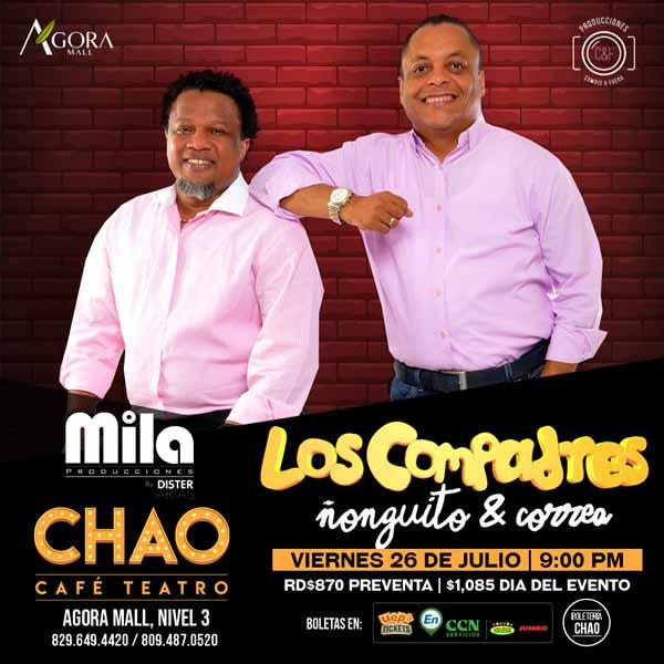 Los Compadres, Ñonguito y Correa