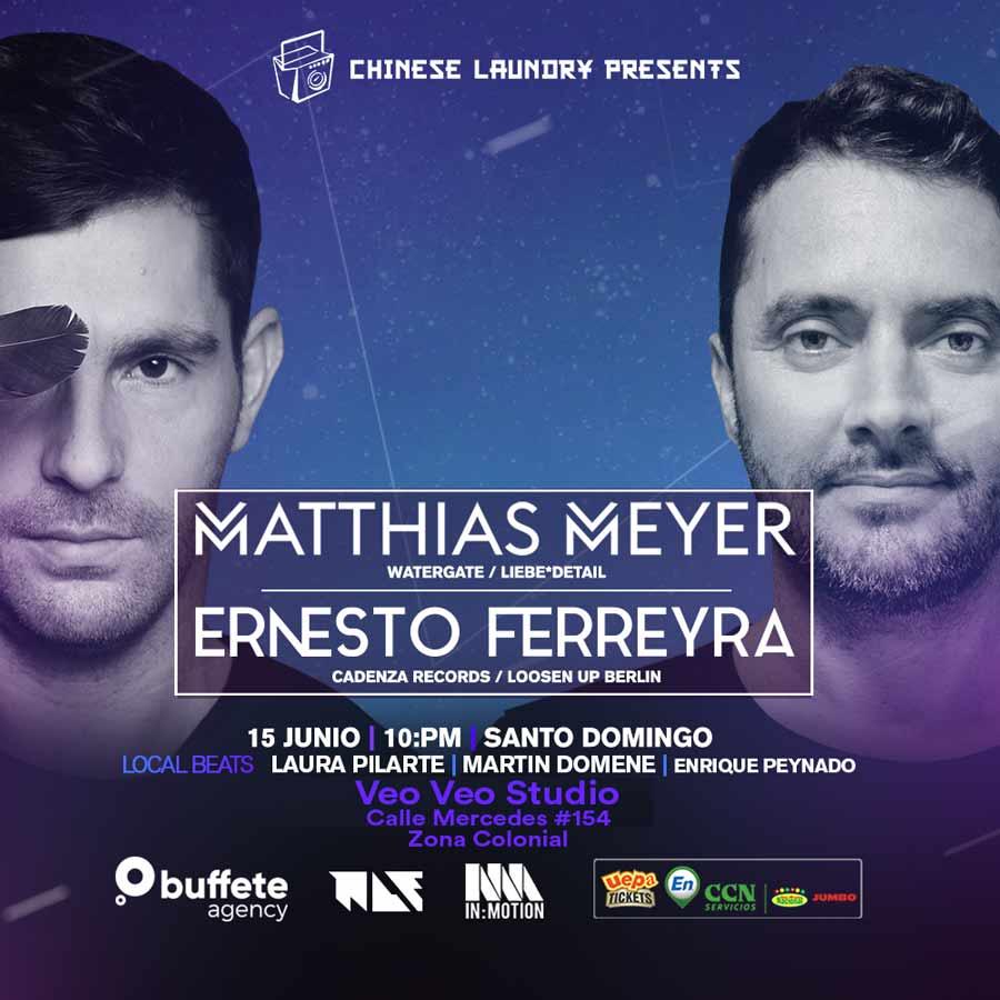 The Chinese Laundry Presents: Matthias Meyer & Ernesto Ferreyra