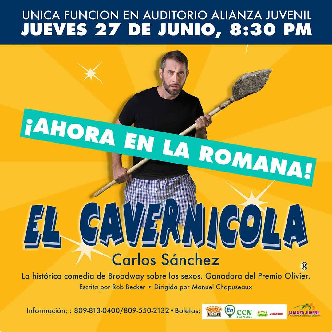 """Carlos Sanchez """"El Cavernicola"""" Funcion La Romana"""