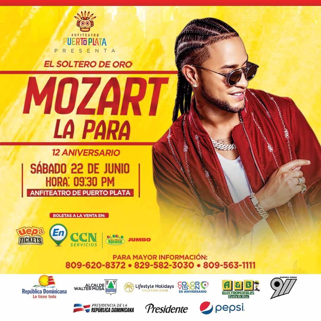 Mozart La Para 12 Aniversario