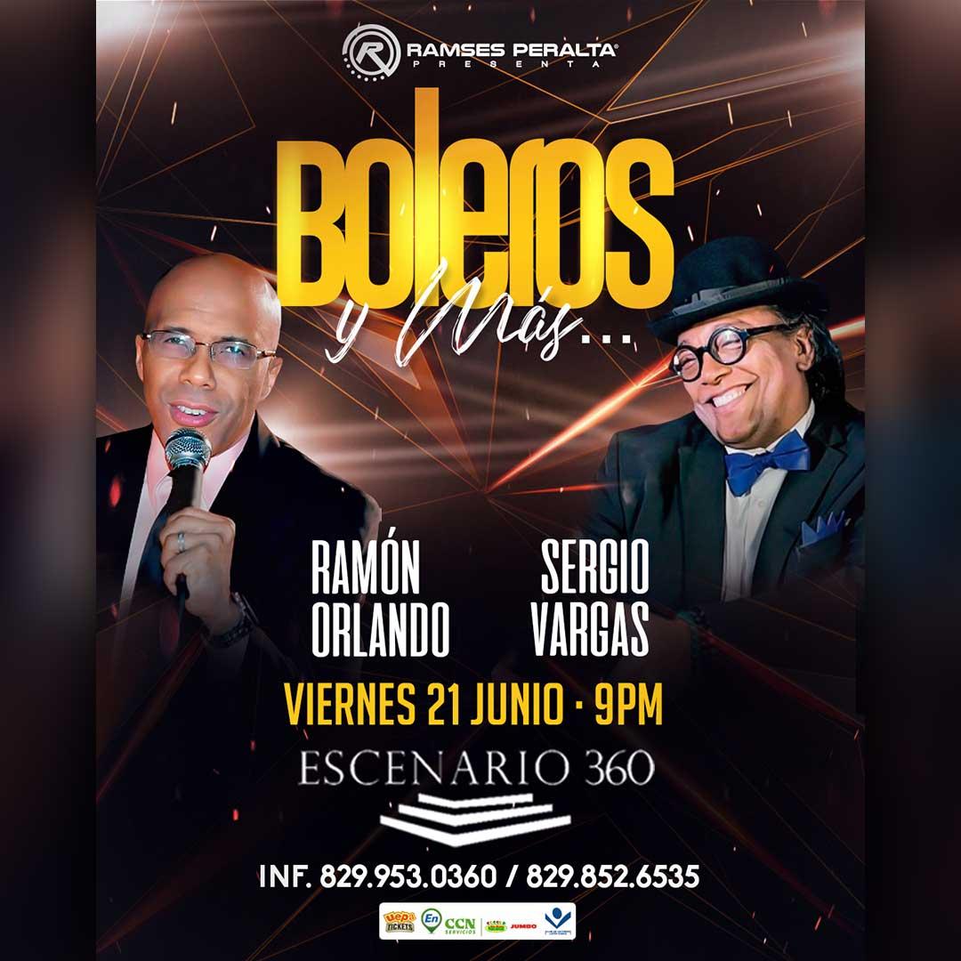 Sergio Vargas Y Ramón Orlando Boleros Y Más