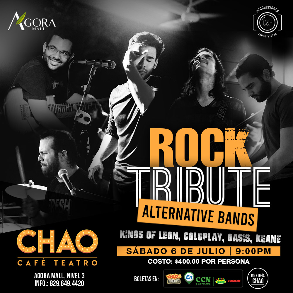 Rock Tribute Alternative Bands