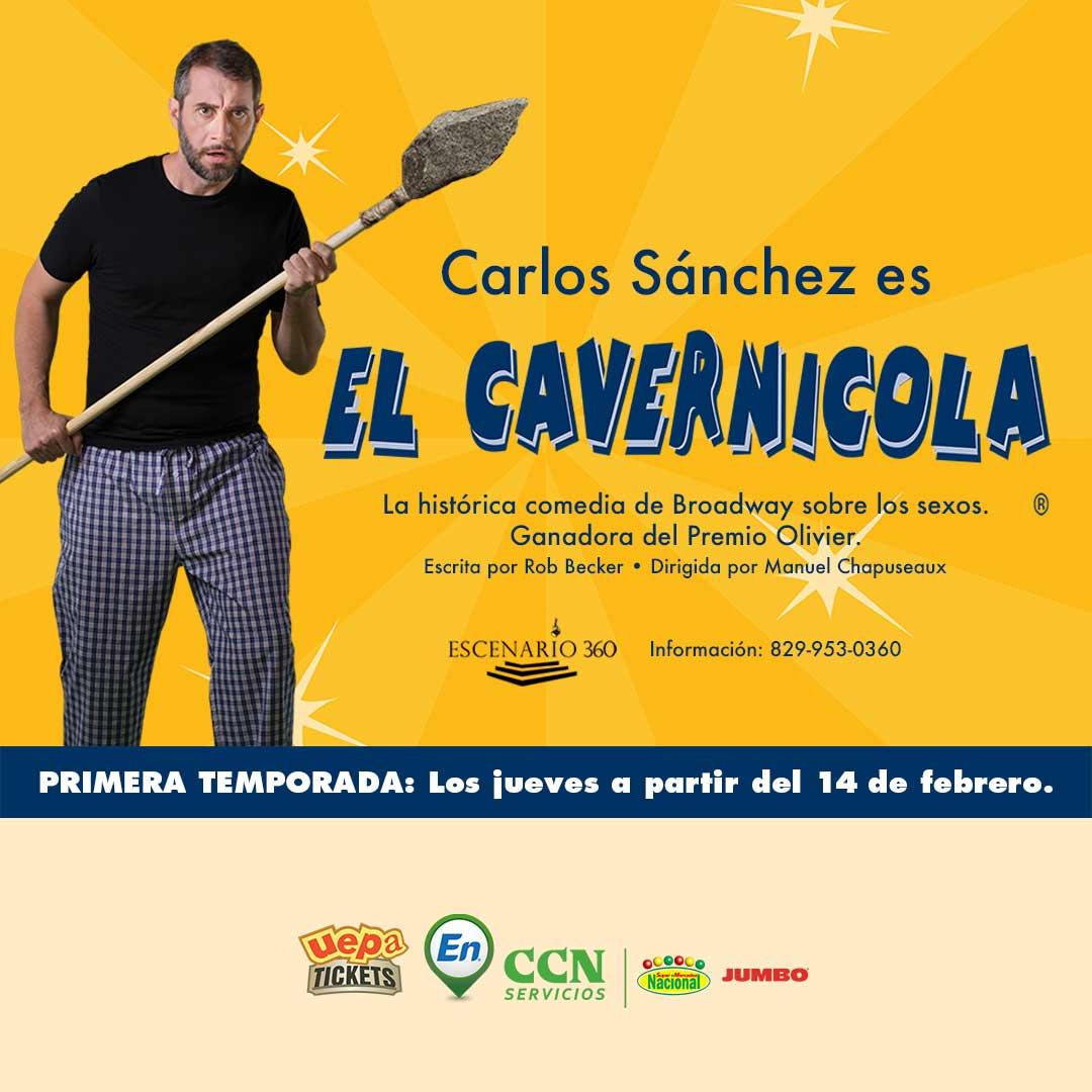 """Carlos Sánchez """"El Cavernícola"""""""