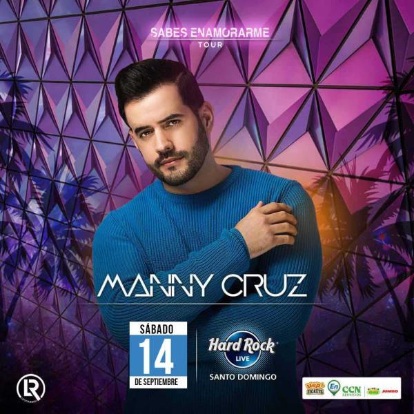 "Manny Cruz: ""Sabes Enamorarme Tour"""