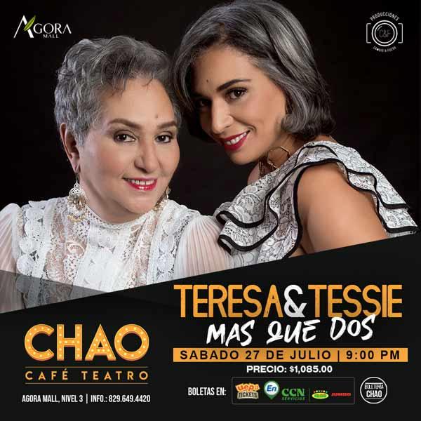 Teresa y Tessie Mas Que Dos