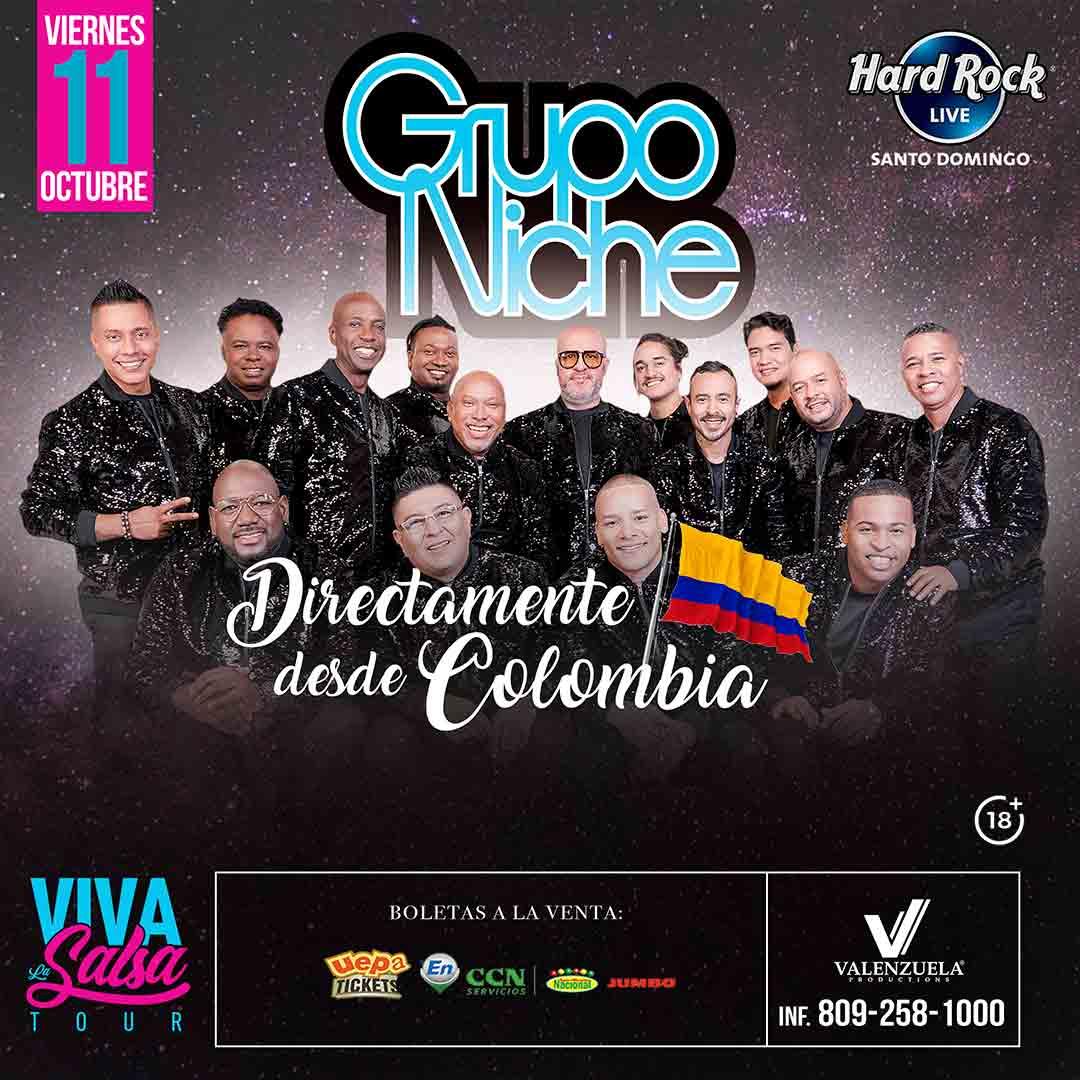 Grupo Niche: Viva la salsa tour