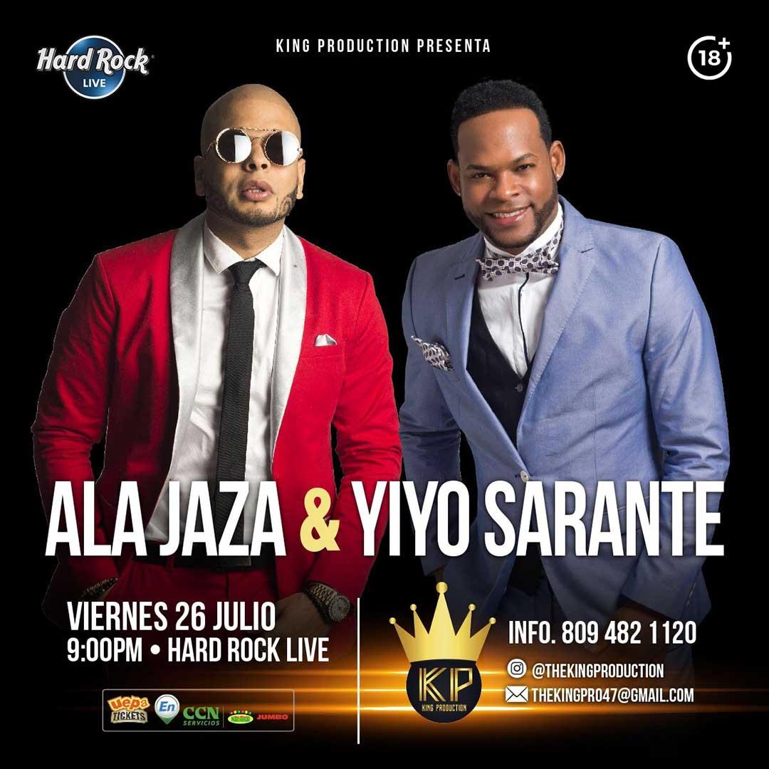 Ala Jaza & Yiyo Sarante