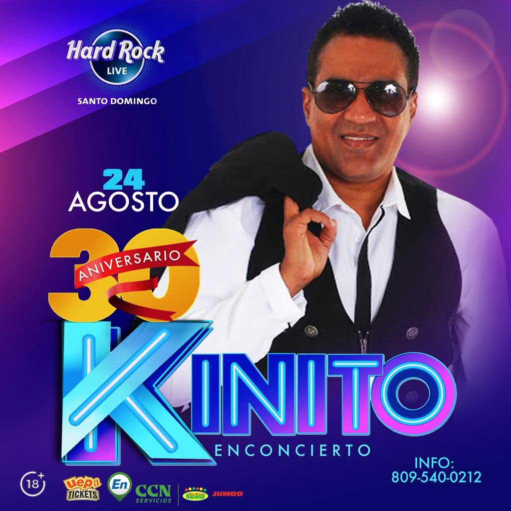 Los 30 Años de Kinito Méndez