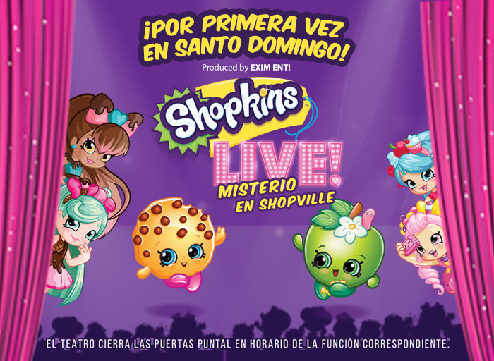 ¡Shopkins en Vivo: Misterio Shopville!