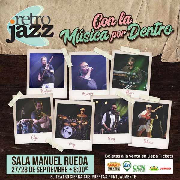 Retro Jazz: Con La Música Por Dentro