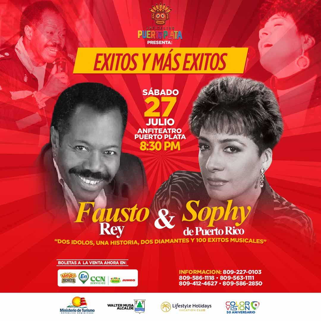 Exitos y mas Exitos: Fausto Rey y la Sophy