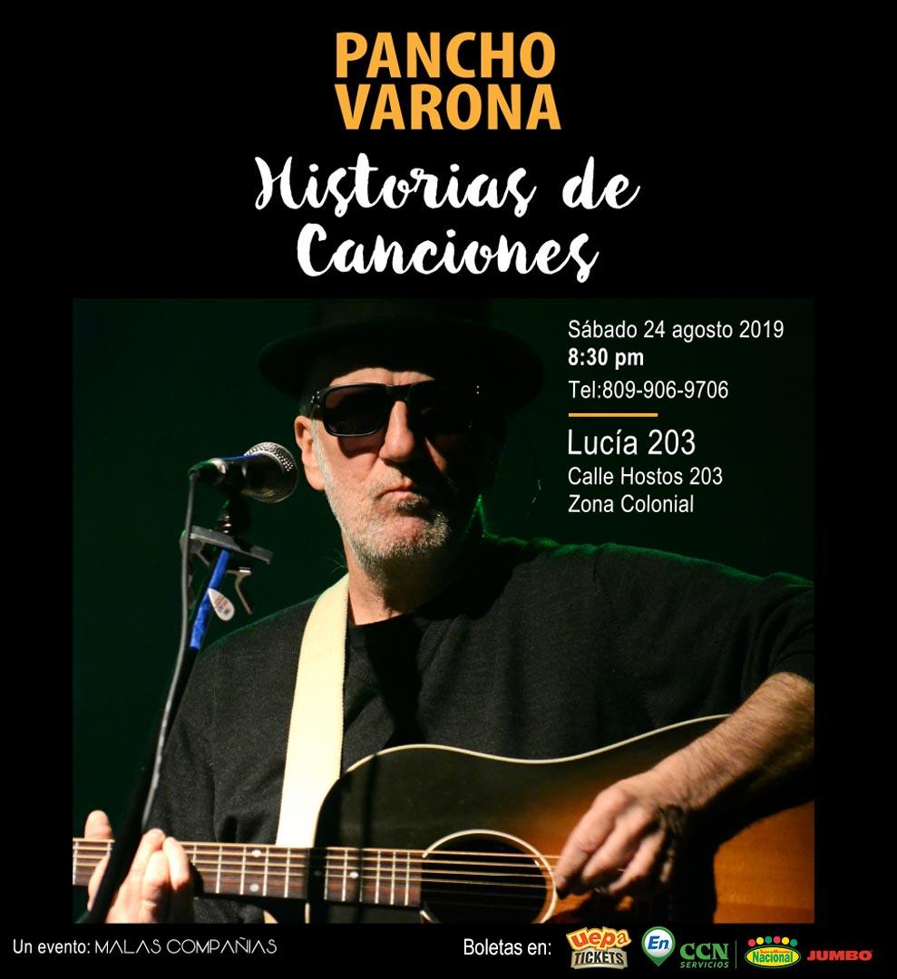 Pancho Varona: Historias de Canciones