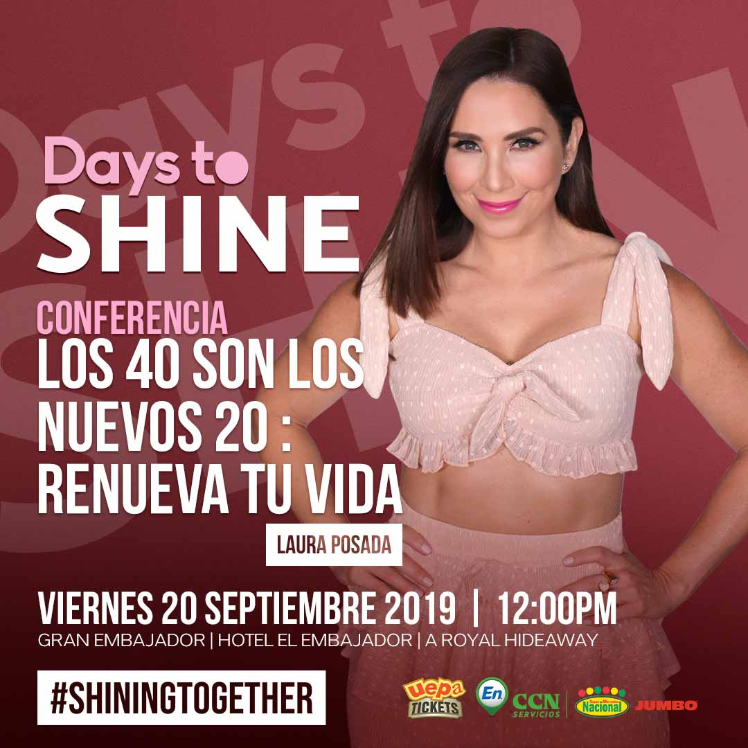 Conferencia Days To Shine 2019 Laura Posada