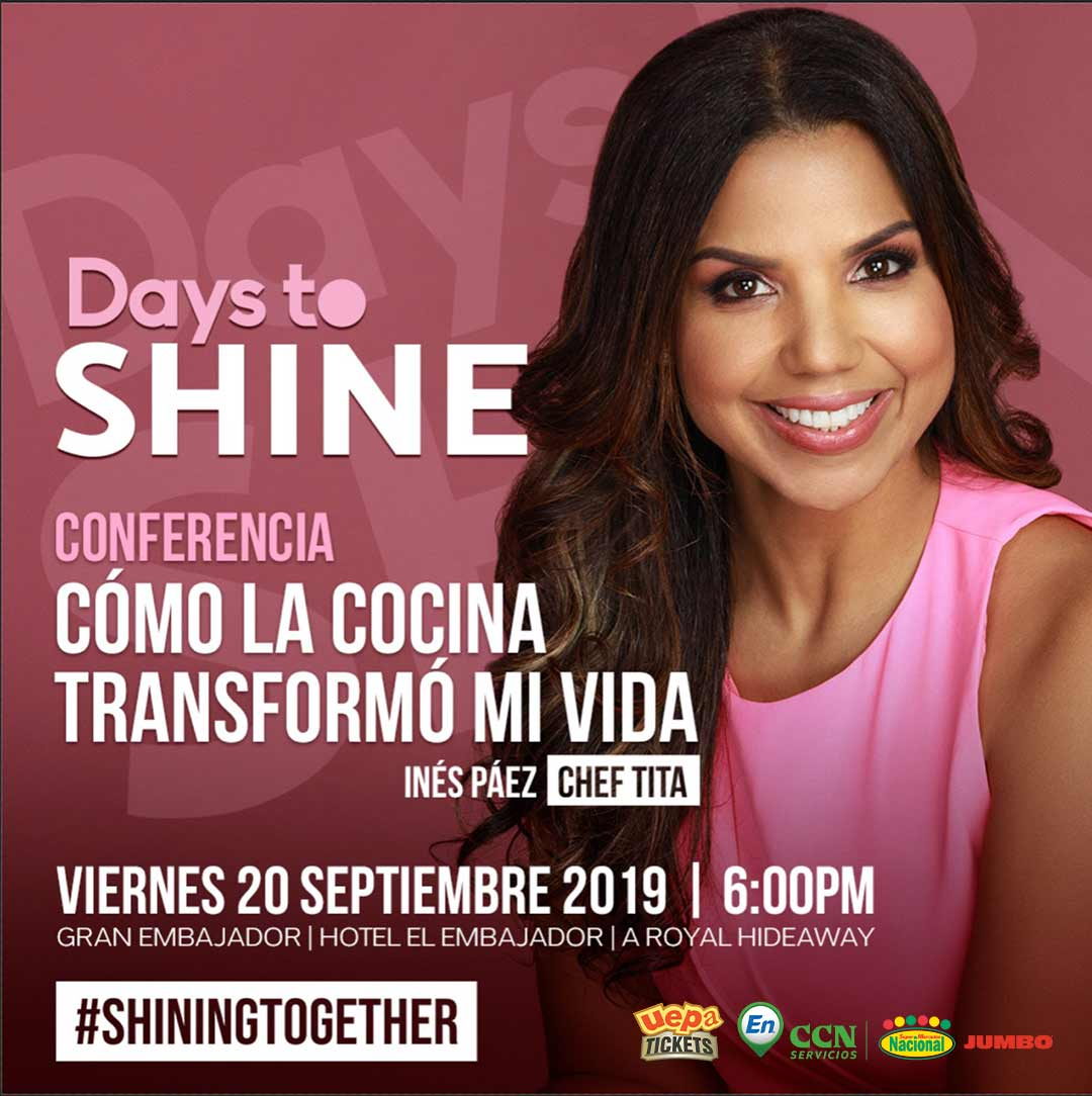 Conferencia Days To Shine 2019 Inés Páez Chef Tita