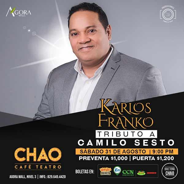 Karlos Franko Tributo a Camilo Sesto