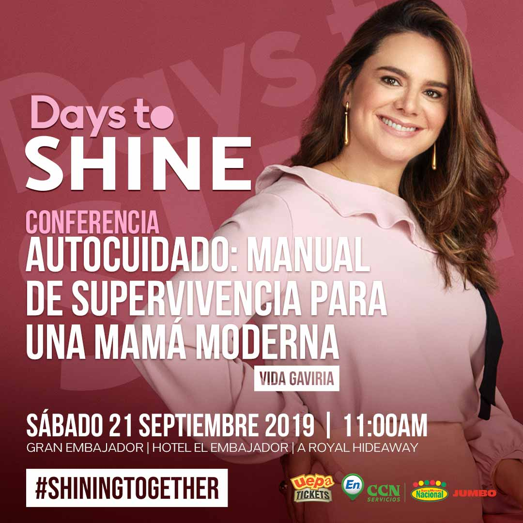 Conferencia Days To Shine 2019 Vida Gaviria