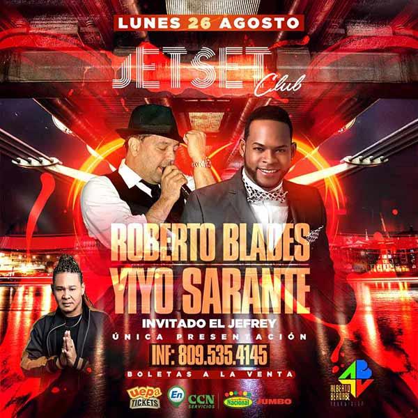 Roberto Blades, Yiyo Sarante y El Jefrey