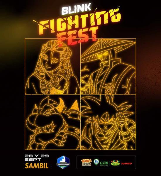 Blink Fighting Fest Torneo De Esports  28 y 29 De Septiembre