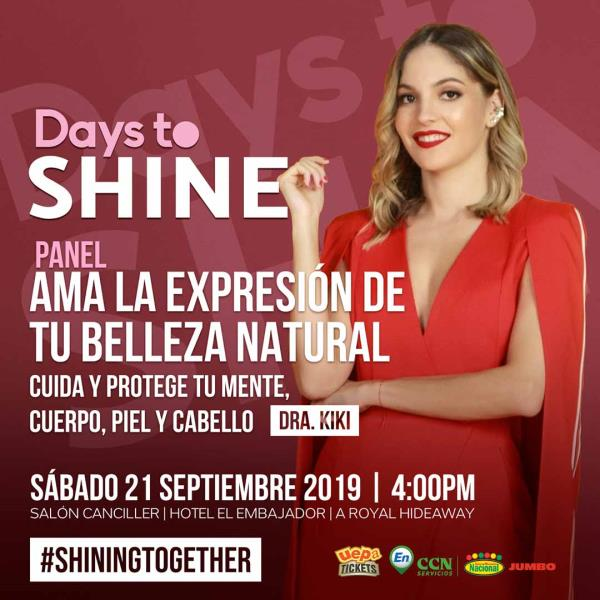 Panel Days To Shine 2019 Doctora Kiki