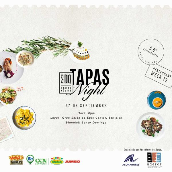 The Tapas Night by SDQ Gastronómico