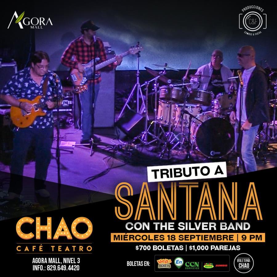 Tributo a Santana, Con The Silver Band