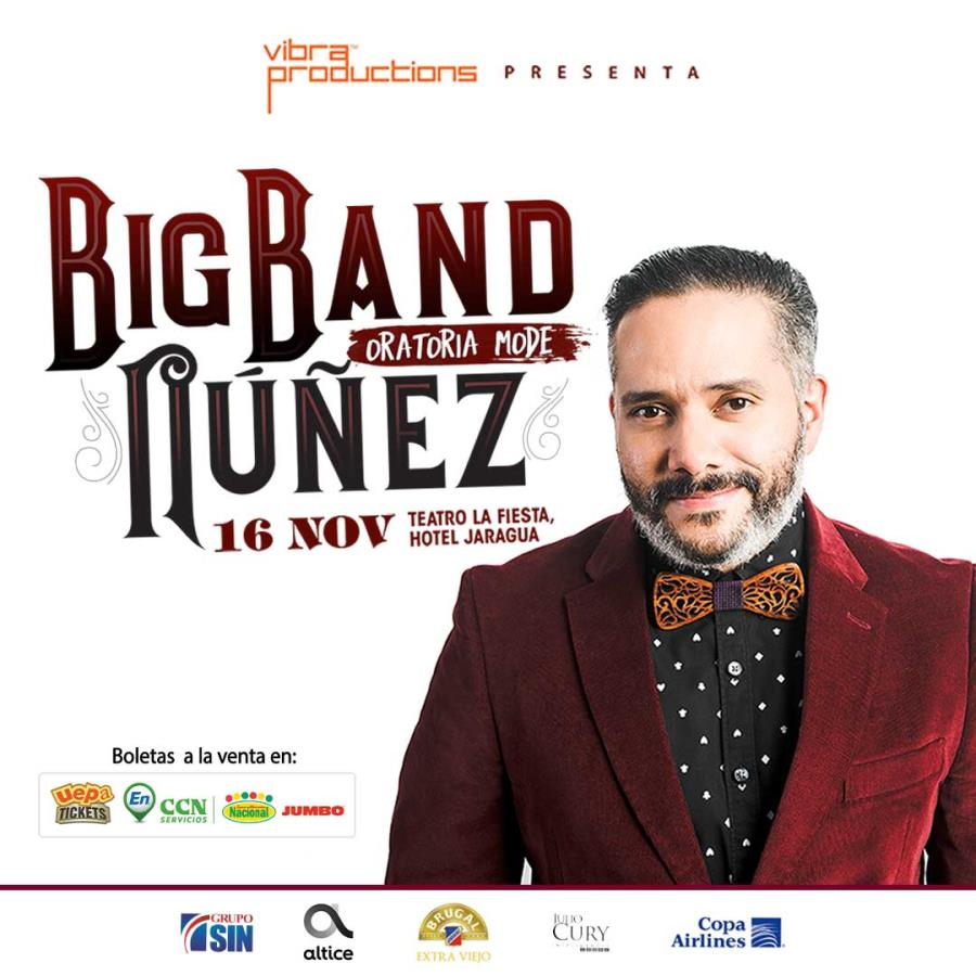 Big Band Nuñez Función Santo Domingo