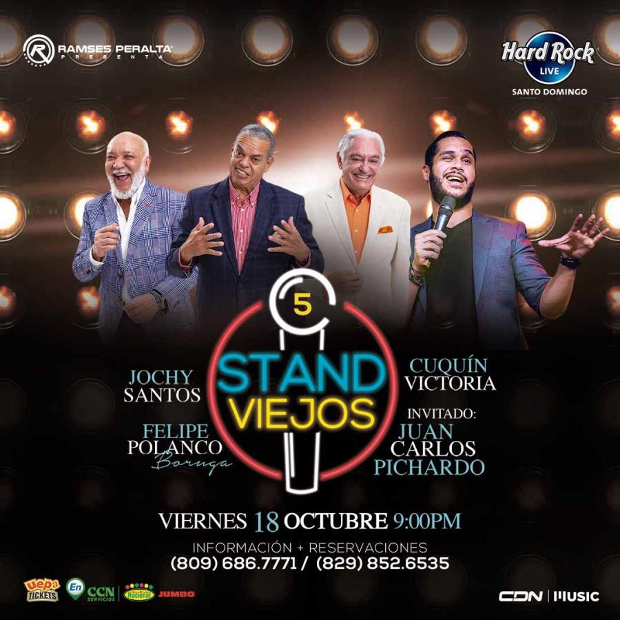 Stand Viejos + Juan Carlos Pichardo