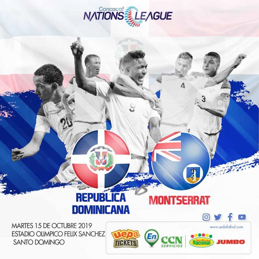 Partido Selección Dominicana de Fútbol