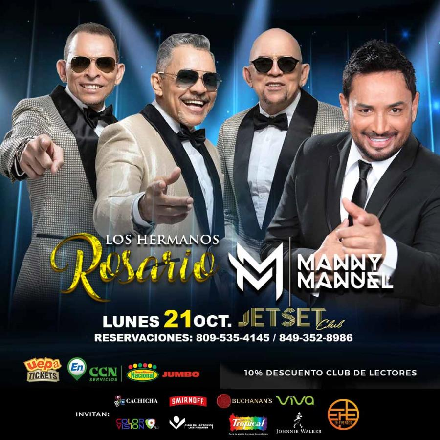 El Fiestón: Los Hermanos Rosario y Manny Manuel