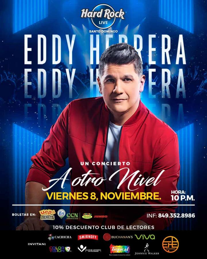 "Eddy Herrera ""A Otro Nivel"""