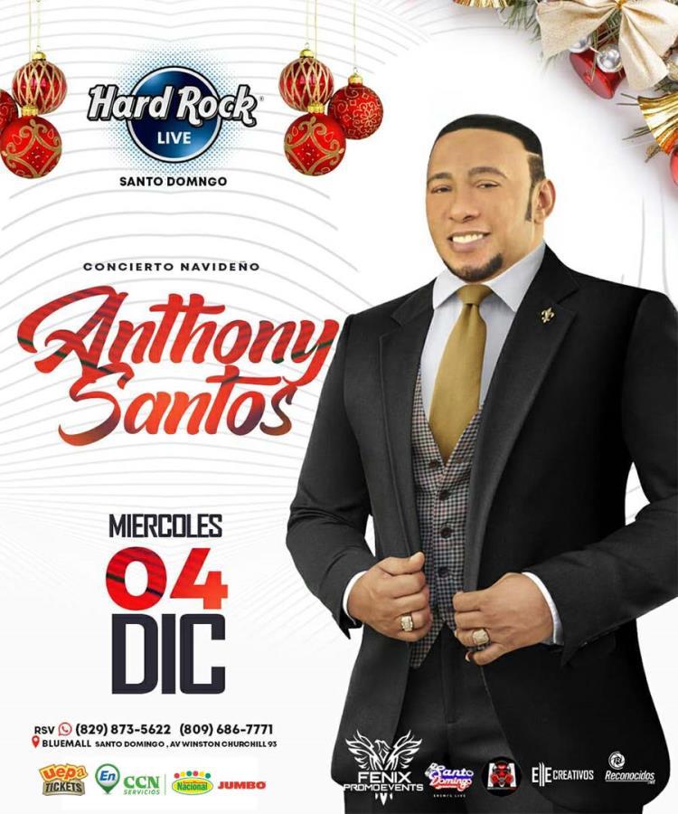 Concierto Navideño: Anthony Santos