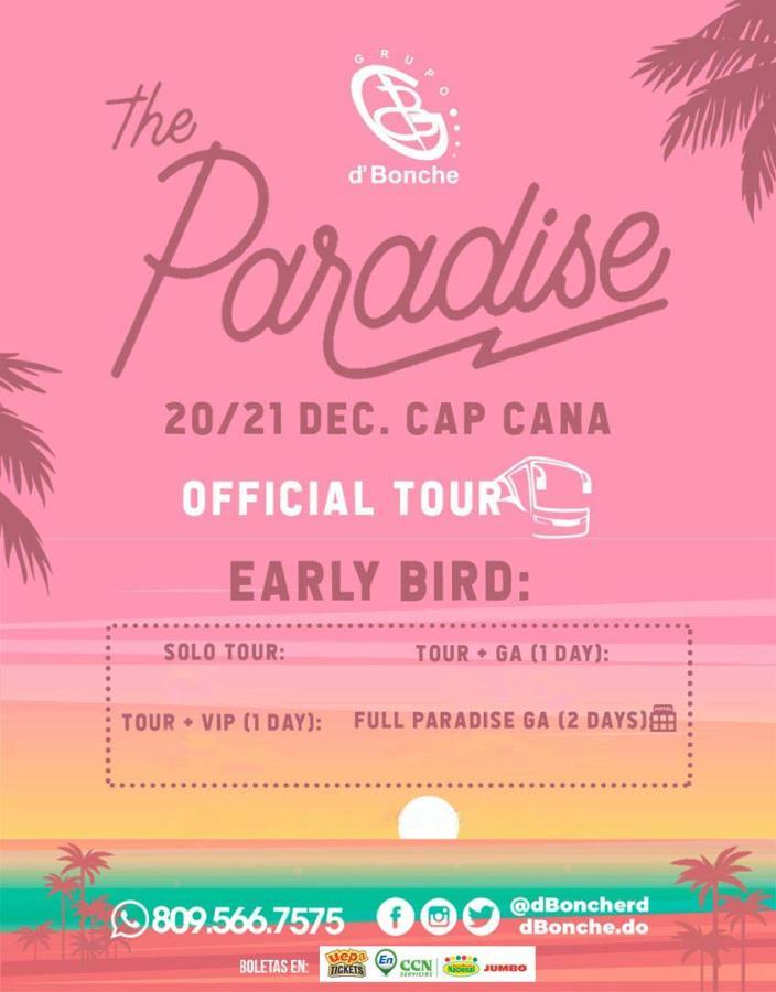 The Paradise *Tour Oficial* Grupo D'Bonche